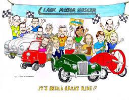 car caricatures cartoons cars trucks motorcycles