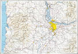 Beaverton Oregon Map by Download Topographic Map In Area Of Portland Gresham Beaverton