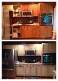 Paint Finishes For Kitchen Cabinets by General Finishes Milk Paint Distressing By The Distressed Fleur