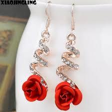 drop earrings wedding xiaojingling korea fashion lovely temperament