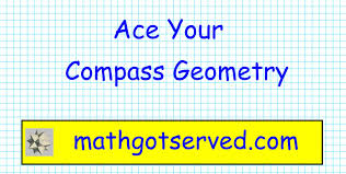compass math geometry pt i placement test act community college