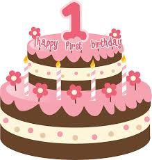 first birthday cake clipart 44