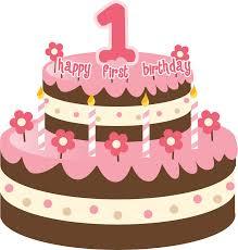 1st birthday cake birthday cake clipart 44