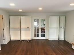 Ceiling To Floor Bookshelves Modified Bookshelves In Madison Nj Monk U0027s Home Improvements
