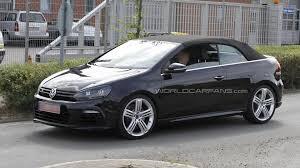 volkswagen convertible cabrio volkswagen golf r cabrio spied again