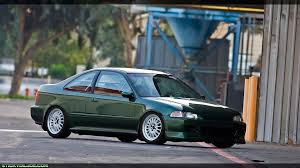 stanced subaru iphone wallpaper green civic ej r32taka