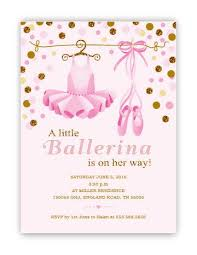 ballerina baby shower invitations ballerina ba shower invitations ballerina ba shower ballerina baby