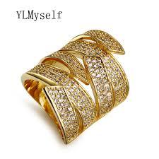 big finger rings images 2018 top big finger ring in gold color with crystal wide design jpg