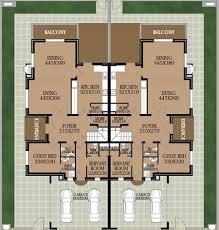 villa floor plan badia residence