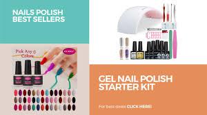 gel nail polish starter kit nails polish best sellers youtube