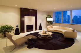 Beautiful Modern Living Room Ideas In Pictures - Curved contemporary sofa living room furniture