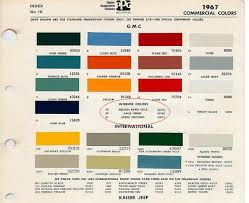 which interior color paint is this exactly the 1947 present