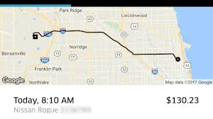 Cta Red Line Map Ride Share Prices Soar After Cta Trains Halted Nbc Chicago