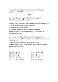algebra worksheets by mark100586 teaching resources tes