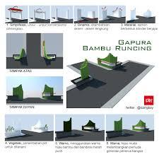 desain warna gapura gapura bambu runcing hellomotion com