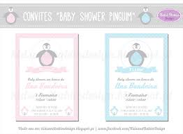 kids u0026babies party printables baby shower pinguim 2
