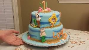 the bubble guppies theme birthday cake youtube