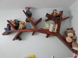 Wood Shelves Designs by Tree Bookcases And Shelves Eco Style Coming With Space Saving Ideas