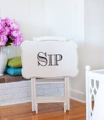 How To Paint A Table by How To Transfer Typography To Wood Furniture In My Own Style