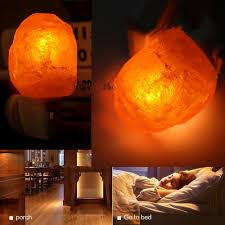 Himalayan Salt Lamp Mini Hand Carved Natural Crystal Himalayan Salt Lamp Night Light