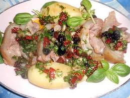 cuisiner tete de veau recette de tete de veau avec langue vinaigrette aux tomates séchées