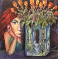 The Blue Vase Art By Nana Quparadze U2013 2000 2009