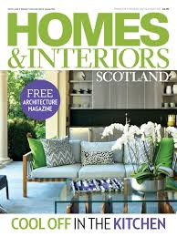 homes and interiors scotland july august 2017 thompson clarke