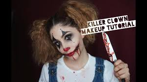 rigid collodion spirit halloween killer clown makeup tutorial how to create cut mouth youtube