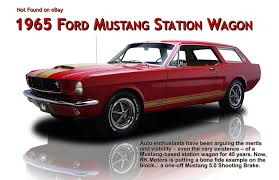 5 0 mustang magazine traveler magazine 2011 06 1965 ford mustang station wagon page 1