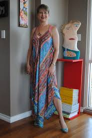 looking fabulous fifty how to wear a caftan dress from a pool