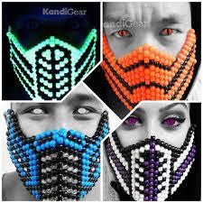 bead masks 17 best kandi images on bead patterns beading
