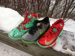 kd christmas nike basketball christmas pack lebron 11 8 kd 6 eastbay