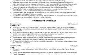 Sample Cpa Resume by Example Resume Accounting Year Experience Corpedo Com