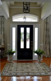 new entry light at home depot paint door black and walls