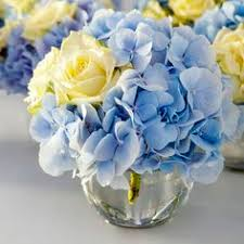 Blue Wedding Centerpieces by Blue Faux Hydrangeas From Afloral Com Make Stunning Wedding