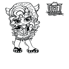 monster high coloring pages baby abbey bominable coloring pages monster high printable coloring pages print full