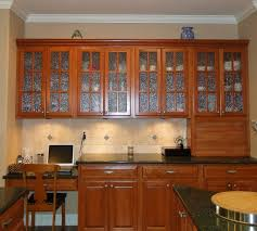 Glass Door Kitchen Cabinets 91 Exles Appealing Maple Wood Nutmeg Glass Panel Door