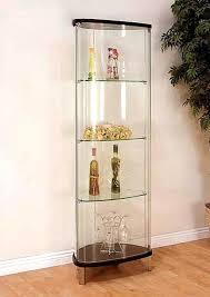 curio cabinet with light glass curio cabinet cabinet lighting elegant glass curio cabinets