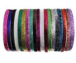 glitter headbands plastic glitter headband wholesale