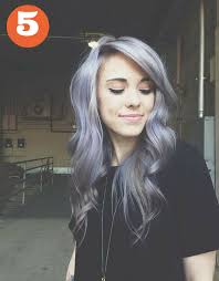 salt and pepper hair with lilac tips hair color help needed marionberry style hair pinterest