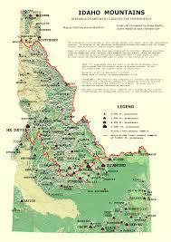 Idaho County Map Idaho Map