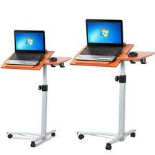 Bedside Laptop Desk Modern Portable Rolling Desks U0026 Home Office Furniture Ebay