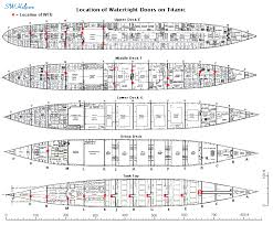 titanic floor plan hercolano2 titanic watertight compartments bulkheads