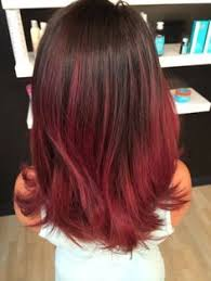 coloring over ombre hair 22 fiery red ombre hair color ideas