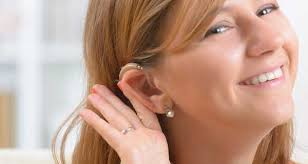 hairstyle that covers hearing aid wearer lawson s hearing center hearing aids binghamton ny