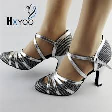 Comfortable Heels For Dancing Customized Low High Heels Ladies Salsa Latin Dance Shoes Women