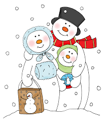 coloring page snowman family snowman clipart snowman family 3926460