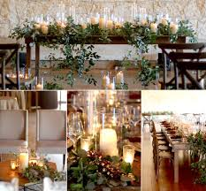 candle runners it s all in the details greenery runners stems florist