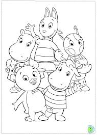backyardigans coloring pages fablesfromthefriends