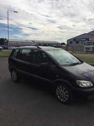 2004 opel zafira left hand drive 7 seater in peterborough